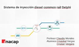 Sistema de inyección diesel common rail Delphi
