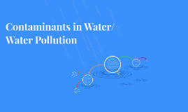 Contaminants in Water/