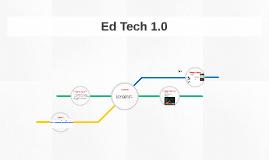 Ed Tech 1.0