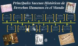 Principales Sucesos Históricos de Derechos Humanos en el Mun
