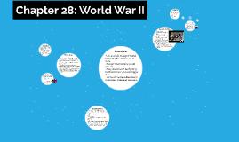 Chapter 28: World War II