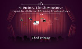 No Business Like Show Business: