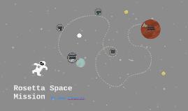 Rosetta Space Mission