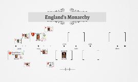 England's Monarchy