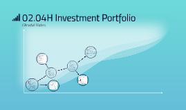 02.04H Investment Portfolio