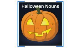 Spooky Nouns