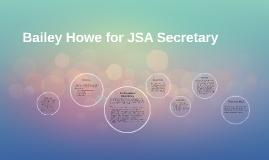 Platform for JSA Secretary