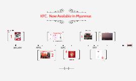KFC LAUNCHES IN MYANMAR