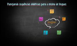 Planejando atividades para o ensino de língua portuguesa