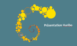 Presentation Haribo