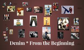 Denim * From the Beginning
