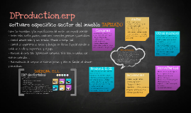 DProduction.erp - Software para sector del mueble tapizado Daemon4