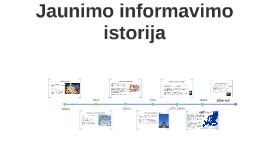 Jaunimo informavimo istorija