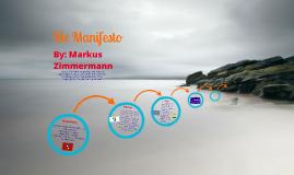 Copy of Me Manifesto
