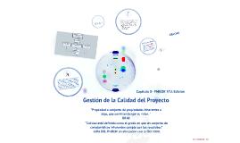 Copy of GESTIÓN DE LA CALIDAD- PMBOK