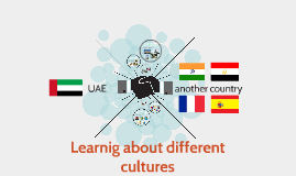 Learnig about diffrent cultures