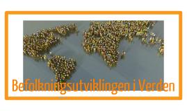 Befolkningsutviklingen i Verden