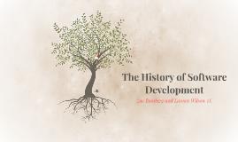 History of Software Development