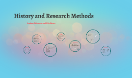 History and Research Methods