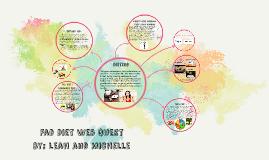 Fad Diet Web Quest