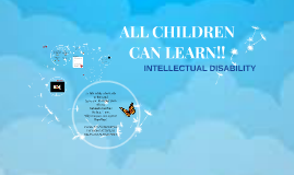 Copy of ALL CHILDREN CAN LEARN