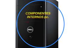 COMPONENTES INTERNOS pc.