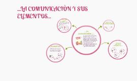 LA COMUNICACIÒN Y SUS ELEMENTOS
