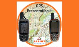 GPS for SAR - Presentation 1