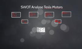 SWOT Analyse Tesla Motors by Max Schumacher on Prezi
