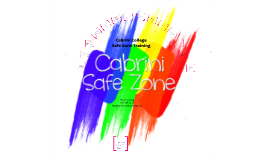 Cabrini College Safe Zone