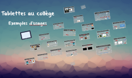 Tablettes collège