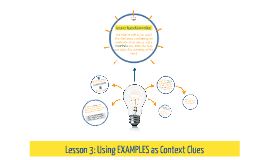 Lesson 3: Types of Context Clues