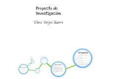 Historia de vida-proyecto de investigación