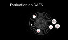 Evaluation en DAES