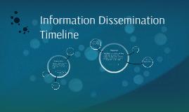 Information Dissemination Timeline