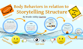 Body Behaviors in relation to Storytelling Structure