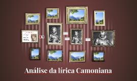 Análise da lírica Camoniana
