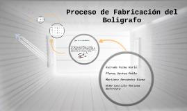 Copy of Diseño del proceso de Fabricación