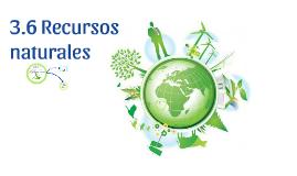 Copy of 3.6 Recursos naturales