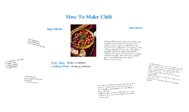 How To Make Chili