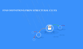 FIND DEFINITIONS FROM STRUCTURAL CLUES