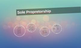 Sole Propretorship