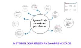METODOLOGIA DE ENSEÑANZA-APRENDIZAJE