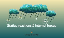 Statics, reactions & internal forces