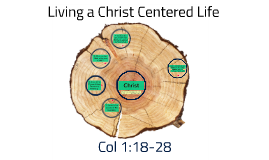 Copy of A CHRIST CENTERED LIFE