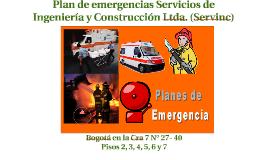 2017 CAPACITACIÓN PLAN DE EMERGENCIAS