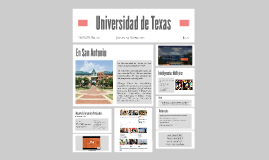 Universidad de Texas en San Antonio