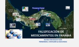 FALSIFICACIÓN DE MEDICAMENTOS EN PANAMA