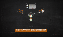 HOW IS A TETRA BRIK RECYCLED?
