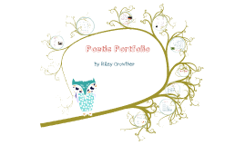 Poem portfolio